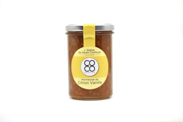 marmelade citron vanille confiture artisanale la reunion coco passion