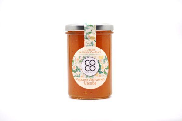 confiture artisanale papaye agrume galabe ile de la reunion coco passion