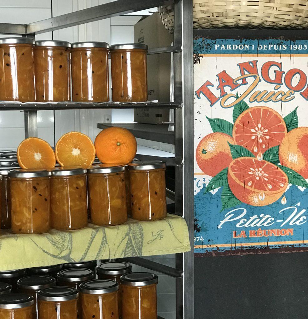 coco passion confitur artisanale orange tango la reunion