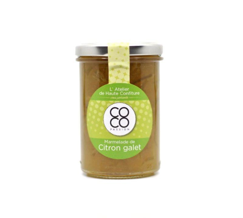 Marmelade Citron Galet