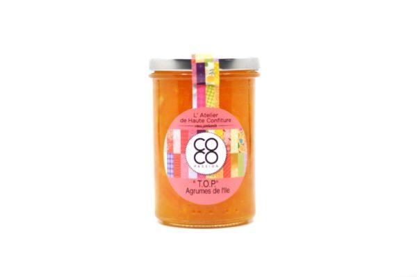 confiture artisanale ile de la reunion marmelade agrumes tangor pomelo orange
