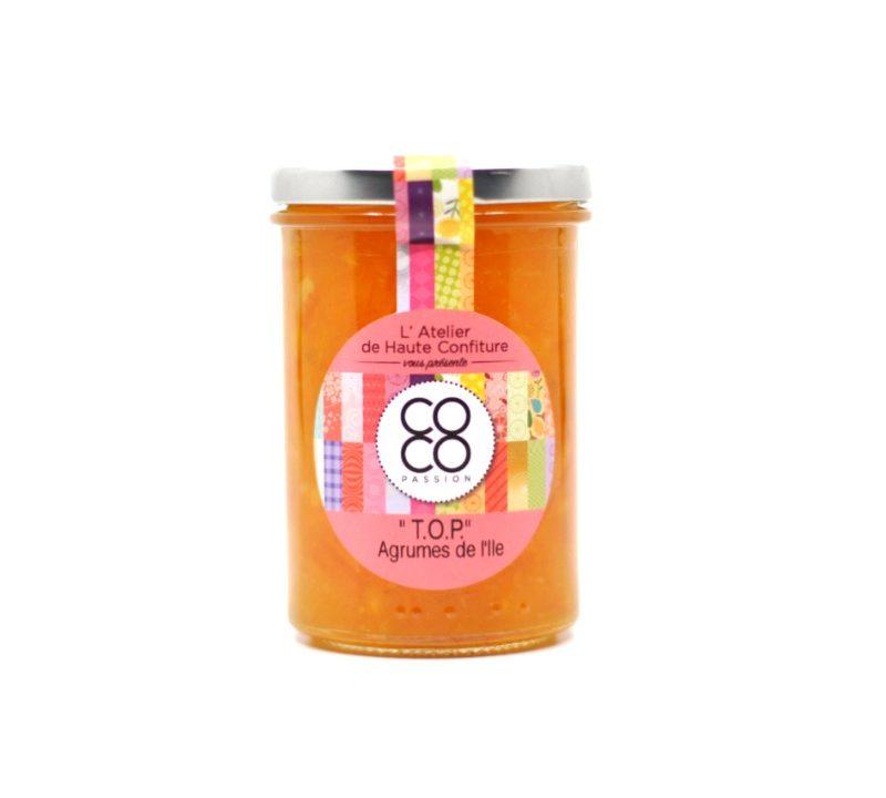 """Marmelade d'agrumes de La Réunion """"T.O.P"""""""