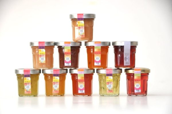 confiture artisanale ile de la reunion coffret mini pot coco passion